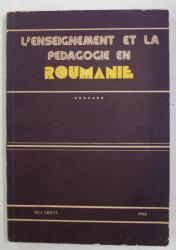L 'ENSEIGNEMENT ET LA PEDAGOGIE EN ROUMANIE , , VOLUME 7 - DANS CE VOLUME LE CENTENAIRE MIHAI EMINESCU , 1988