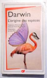 L ' ORIGINE DES ESPECES par DARWIN , 2008