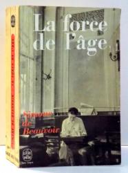 LA FORCE DE L`AGE par SIMONE DE BEAUVOIR , 1969