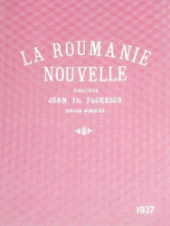 LA ROUMANIE NOUVELLE   - JEAN TH. FLORESCO   1937