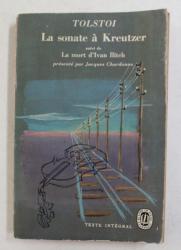 LA SONATE A KREUTZER par TOLSTOI , 1958