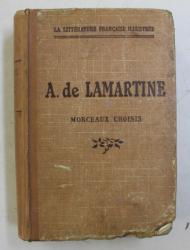 LAMARTINE - MORCEAUX CHOISIS par RENE CANAT , 1926