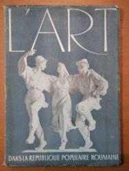 L'ART DANS LA REPUBLIQUE  POPULAIRE ROUMAINE  -L'EXPOSITION ANNUELLE D'ETAT DES ARTS PLASTIQUES