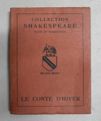 LE CONTE D 'HIVER par SHAKESPEARE , 1947