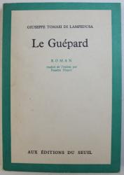 LE GUEPARD di GIUSEPPE TOMASI DI LAMPEDUSA , 1958