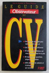 LE GUIDE NOUVEL OBSERVATEUR DU CV , SOUS LA DIRECTION de PIERRE SAHNOUN , 1991