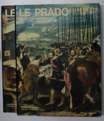 LE PRADO MADRID , TOME I - II par MANUEL LORENTE , 1973