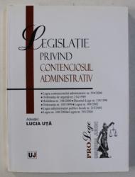 LEGISLATIE PRIVIND CONTENCIOSUL ADMINISTRATIV , 2006