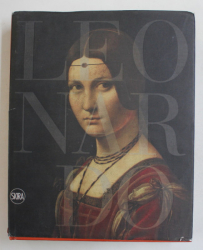 LEONARDO DA VINCI  1452 - 1519 - THE DESIGN OF THE WORLD , edited by PIETRO C. MARANI amd MARIA TERESA FIORIO , 2015 , PREZINTA URME DE UZURA , STARE PROASTA *