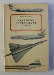 LES AVIONS DE TRANSPORTS CIVILS par KENNETH MUNSON , 1972