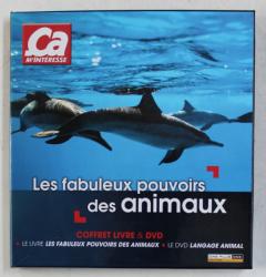 LES FABULEUX POUVOIRS DES ANIMAUX , COFFRET LIVRE & DVD par CHARLOTTE PORTALIS , 2011