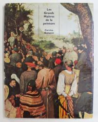 LES GRANDS MAITRES DE LA PEINTURE AU MUSEE DES BEAUX - ARTS IN BUDAPEST par KLARA GARAS , 1960