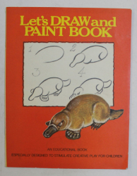 LET ' S DRAW AND PAINT BOOK
