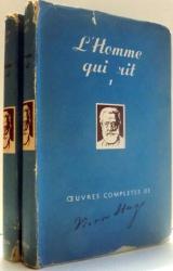 L`HOMME QUI RIT par VICTOR HUGO, TOMES I-II , 1952