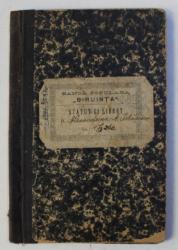 LIBRET AL  BANCII POPULARE  ' BIRUNTA ' COM . CETATENI DIN VALE JUDETUL MUSCEL , ELIBERAT IN 1907