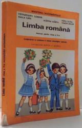 LIMBA ROMANA , MANUAL PENTRU CLASA a - II - a de BALLA SARA , MARTHA MARTA , POPA LUIZA