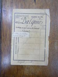 Livret militar 1876, Dalquie