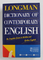 LONGMAN - DICTIONARY OF CONTEMPORARY ENGLISH , 1995