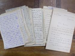 Lot 130 scrisori intre 1908-1920