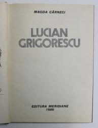 LUCIAN GRIGORESCU-MAGDA CARNECI,1989