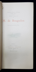 M. de BOUGRELON par JEAN LORRAIN , EDITIE DE INCEPUT DE SECOL XX