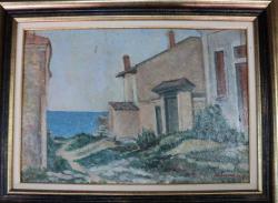 M. ENESCU -CASE LA MALUL APEI- 1935