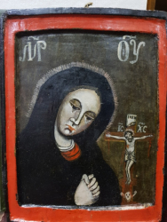 Maica Domnului indurerata, Icoana Romaneasca, Sfarsit Secol 18