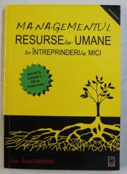 MANAGEMENTUL RESURSELOR UMANE IN INTREPRINDERILE MICI de ANA MARIA GRIGORE , 2006