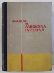 MANUAL DE MEDICINA INTERNA PENTRU SCOLILE DE ASISTENTE MEDICALE , sub redactia lui C . PAUNESCU , 1962