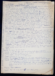 Manuscris Horia Lovinescu,