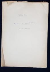 Manuscris Horia Lovinescu, Omul care si-a pierdut omenia