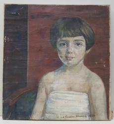 Maria Ciurdea Steurer - Portret de fetita