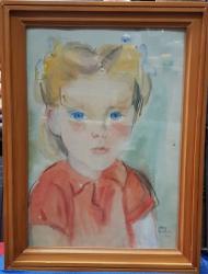 Maria Constantin, Portret de fetita