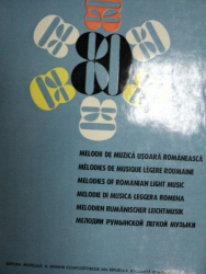 MELODII DE MUZICA USOARA ROMANEASCA- ALEXANDRU CONSTANTIN, BOGARDO FLORIN….BUC. 1968