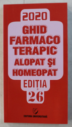 MEMOMED 2020 VOL. II - GHID FARMACOTERAPIC ALOPAT SI HOMEOPAT ED. 26 , 2020