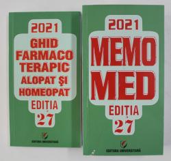 MEMOMED , EDITIA 27 de DUMITRU DOBRESCU ...RUXANDRA McKINNON  , VOLUMELE I - II , 2021