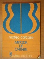METODÁ DE CHITARA'-BUC.1980, COTOR REFACUT de MATTEO CARCASSI