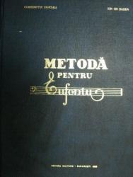 METODA PENTRU EUFONIU - CONSTANTIN FANCIALI SI ION.GH.BADEA, BUC. 1965