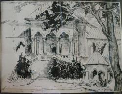 M.H. GEORGESCU -LITOGRAFIE