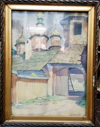 Mih. Saharov, Biserica Rusa