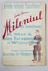 MILENIUL de SEVER STOICA - CLUJ, 1934