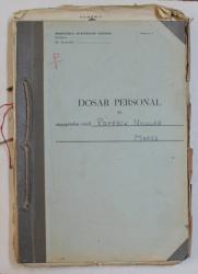 MINISTERUL AFACERILOR INTERNE  - DOSAR PERSONAL AL ANGAJATULUI CIVIL POPESCU NICULAE MARES , 1929 - 1949