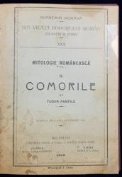 MITOLOGIE ROMANEASCA, 2 VOL. de TUDOR PAMFILE - BUCURESTI, 1916-1924