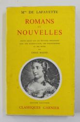 Mme DE LAFAYETTE - ROMANS ET NOUVELLES , 1958