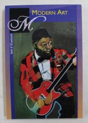 MODERN ART  - BOOK OF 30 POSTCARDS , 1999