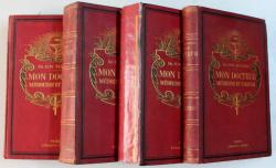 MON DOCTEUR MEDECINE ET HYGIENE par H. M. MENIER , VOLUMELE  I - IV , EDITIE INTERBELICA