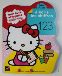 MON LIVRE EFFACABLE , J ' ECRIS LES CHIFFRES , 1 2 3 , 2011