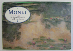 MONET , 20 BEAUTIFUL CARDS WITH ENVELOPES , 2000