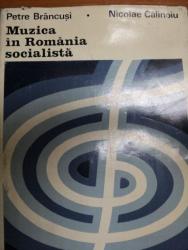 MUZICA IN ROMANIA SOCIALISTA- PETRE BRANCUSI SI NICOLAE CALINOIU, BUC.1973