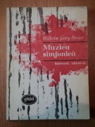 MUZICA SIMFONICA,BAROCA-CLASICA de WILHELM GEORG BERGER , 1967